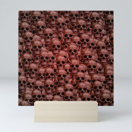 Skull wall Mini Art Print