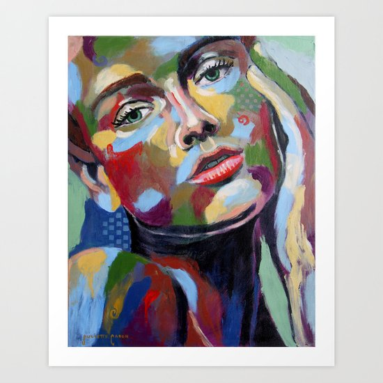 Milla Art Print