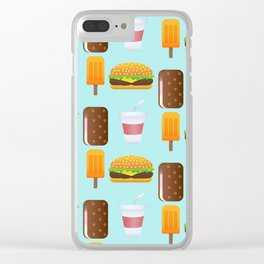 SnackTime Clear iPhone Case