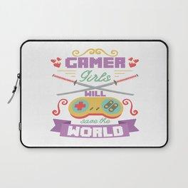 Funny Gamer Gaming Geek Nerdy Accessories Gift Laptop Sleeve