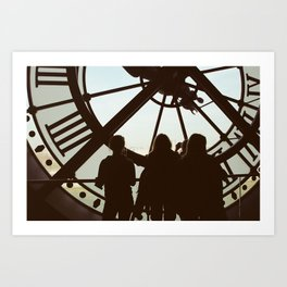 In the Shadow of Time Art Print