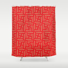 red and brown shower curtain. Human History  Red and Brown Shower Curtain Repeatable Curtains Society6