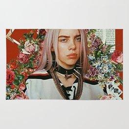 Billie Eilish Graphic Artwork Rug