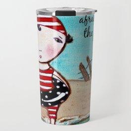 Plunge beach ocean inspiration Travel Mug