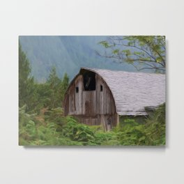 Middle Of Nowhere - Country Art Metal Print
