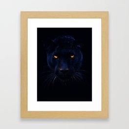 THE BLACK PANTHER Framed Art Print