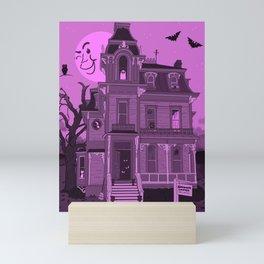 Spooky Roomies Mini Art Print