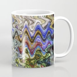 Stain Glass Wave Coffee Mug