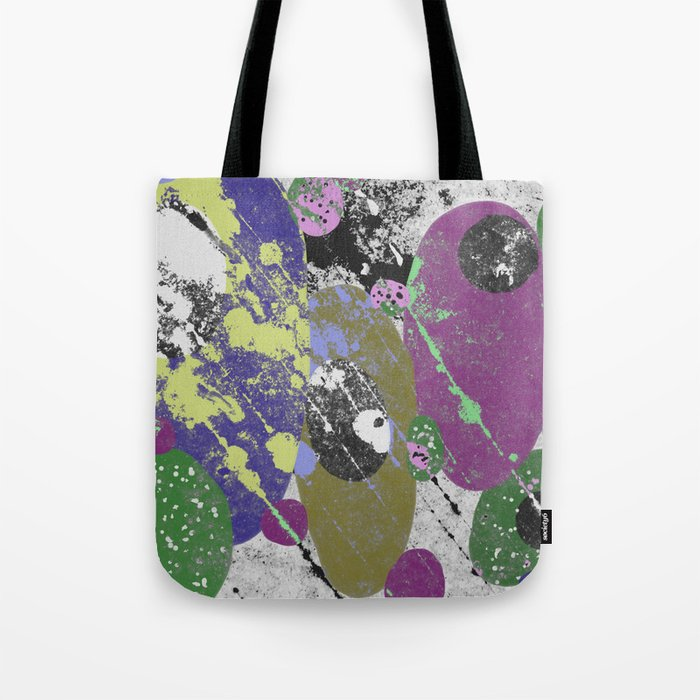 Gather Together - Abstract, pastel coloured, textured, artwork Tote Bag