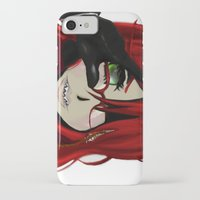 kuroshitsuji iPhone & iPod Cases featuring Grell by teddysart