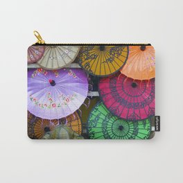 Umbrella Color Carry-All Pouch