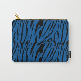 Tiger Princess Blue Carry-All Pouch
