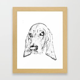 Ain't Nothin' but a Hound Dog Framed Art Print