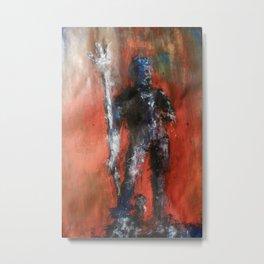 Neptune of Bologna Metal Print