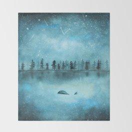 Stars don't judge Throw Blanket