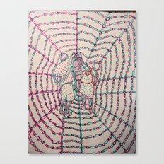 Let Our Love Flow 3 Canvas Print