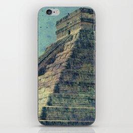 El Castillo (2) [Grunge] iPhone Skin