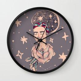 voodoo queen Wall Clock
