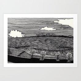 View on Fehmarn Art Print