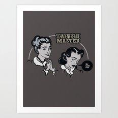 Schadenfreude Master Art Print