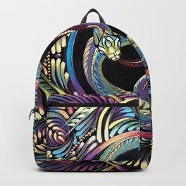 Ouroboros Mandala Backpack