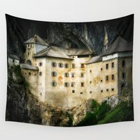 castle Wall Tapestries featuring Castle by DistinctyDesign