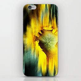 Sunflower Abstract iPhone Skin