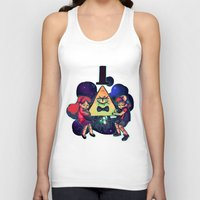gravity falls Tank Tops featuring Gravity Falls by Miki Draw