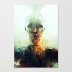 Magma Canvas Print
