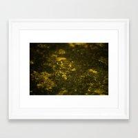 oil Framed Art Prints featuring Oil by MrJane