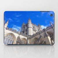 downton abbey iPad Cases featuring Bath Abbey by Casey J. Newman