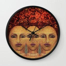 Nests Wall Clock