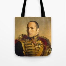 Dwayne (The Rock) Johnson - replaceface Tote Bag