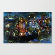 Wanderer's Cove Canvas Print