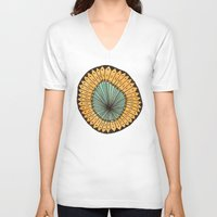 cycle V-neck T-shirts featuring Cycle by Lizzy Servito