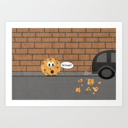 Cookie Art Print