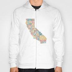 California by County Hoody