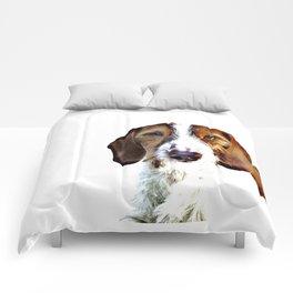 """""""Birch"""" ~ Dachshund, Weiner Dog, Doxie, everywhere!  Comforters"""