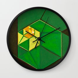 "South (""Elementals"" series) Wall Clock"