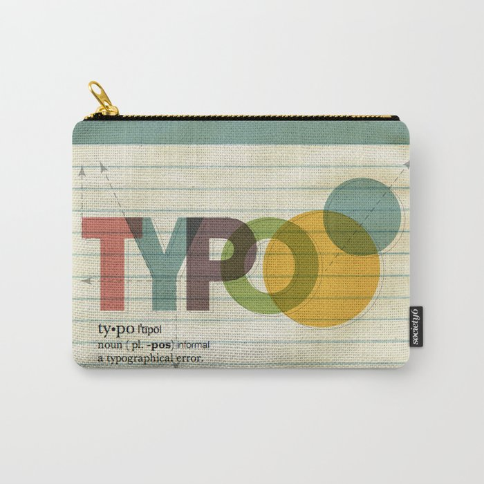 typo Carry-All Pouch