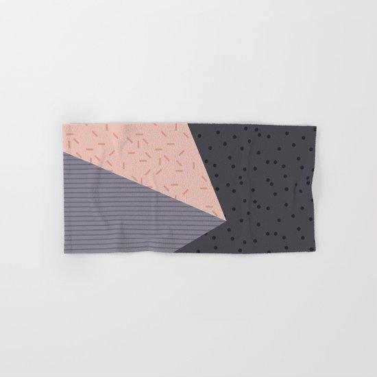Geometry Blocks 8 Hand & Bath Towel
