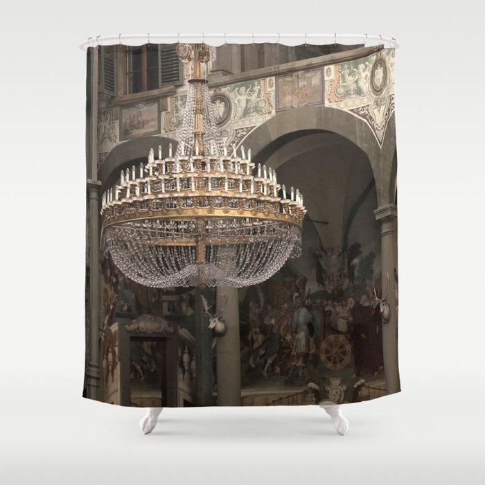 The Ballroom - Florence - Tuscany Shower Curtain by franart | Society6