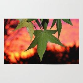 Leafy Sunset Rug