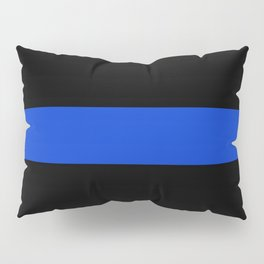 Thin Blue Line Pillow Sham