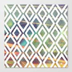 Noria and geometric forms Canvas Print