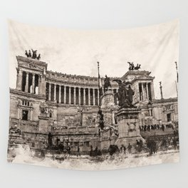 Altar of the Fatherland, Rome Wall Tapestry