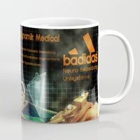 hologram Mugs featuring Badidas Genen Dynamik Medical by EverEvolvingEpithet