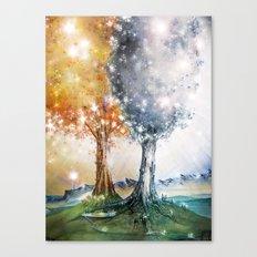 Ezellohar Trees Canvas Print
