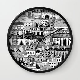 Jerusalem Wall Clock