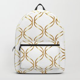 Double Helix - Gold #741 Backpack